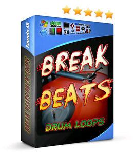 Details about Dr  REX Vinyl Breakbeats Live Drum Loops Samples Hip Hop  Reason Pro Tools Cubase