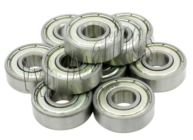 "10 Bearing R4ZZ .250/""x .625/""x 0.196/"" inch Bearings VXB"