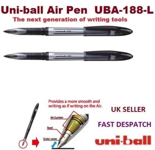 UBA-188 bleu uni-ball Stylo roller AIR