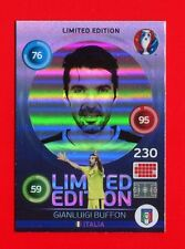 EURO FRANCE 2016 - Adrenalyn Panini Card Limited Edition Hero - BUFFON - ITALIA