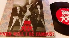 BROS - WHEN WILL I BE FAMOUS - 7 Inch Single 1987 Uk Release vg ex