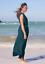 Athleta Marlow robe longue M Medium Oceanic Sarcelleléger long Robe D/'été