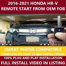 Plug Amp Play Remote Start 2016 2021 Honda Hr V Fits Honda