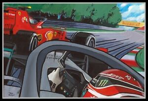 Painting-2019-Italian-Grand-Prix-Monza-Comic-Collection-by-Toon-Nagtegaal