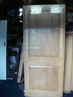 2 Panel Oak Veneered Door 1981x838x35mm Cheap,