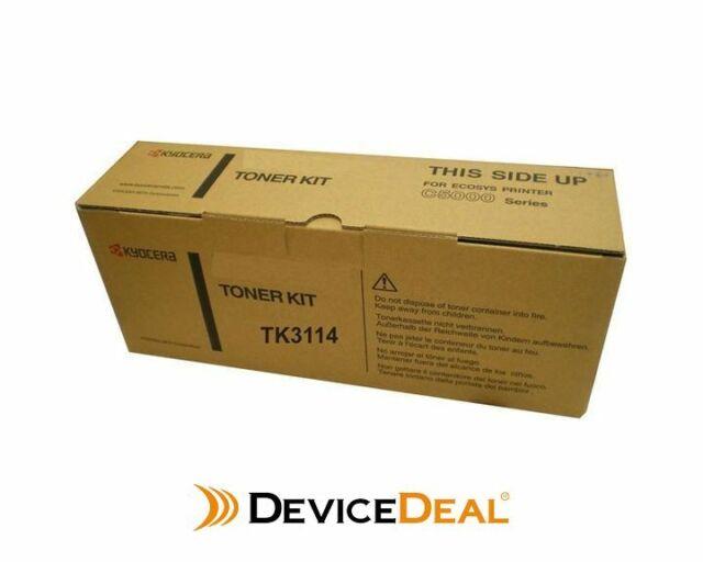 Kyocera TK3114 Toner Kit 15,500 pages Black