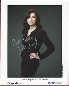 Julianna Margulies, Schauspielerin, Signiert 20.3cm x 25.4cm Foto, COA, Uacc Rd