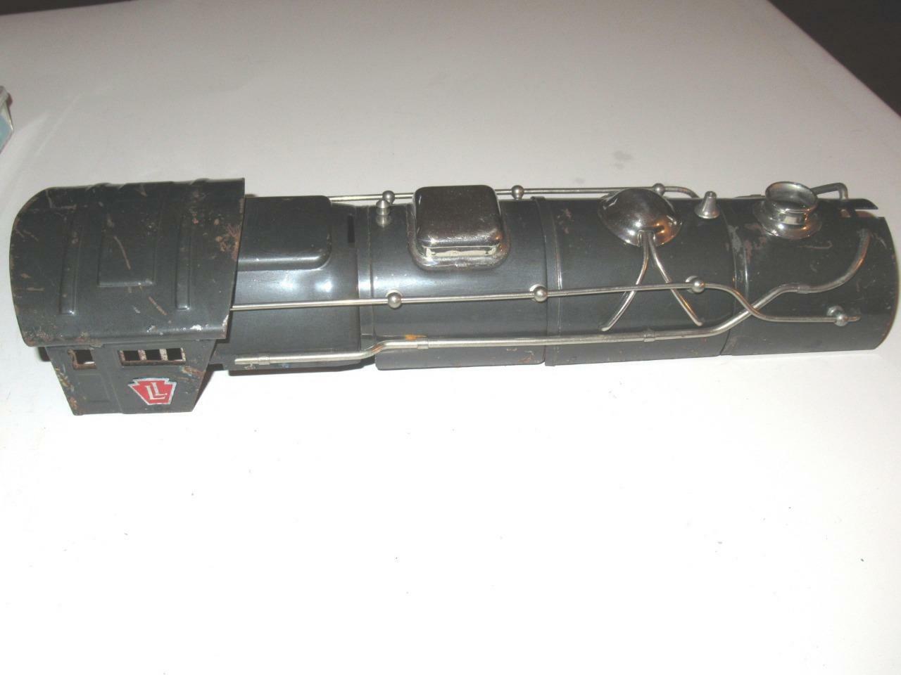 Lionel PARTCalibro Steard Originale 392E CALDAIA grigio con finitura nickelEXC   H39