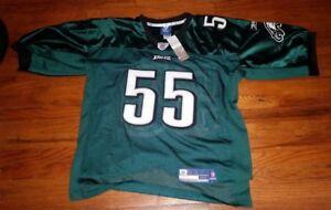 Philadelphia Eagles Onfield Reebok NFL KOLB 4 Size 52 American Football Jersey.