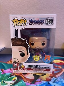 Funko Pop! PX Previews Exclusive I am Iron Man Glow in the Dark 580 2020