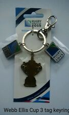 Rugby World Cup 2015 Key Ring - Webb Ellis Trophy 3 tag