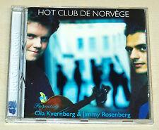 HOT CLUB DE NORVEGE PRESENTING OLA KVERNBERG & JIMMY ROSENBERG - CD - GUITAR