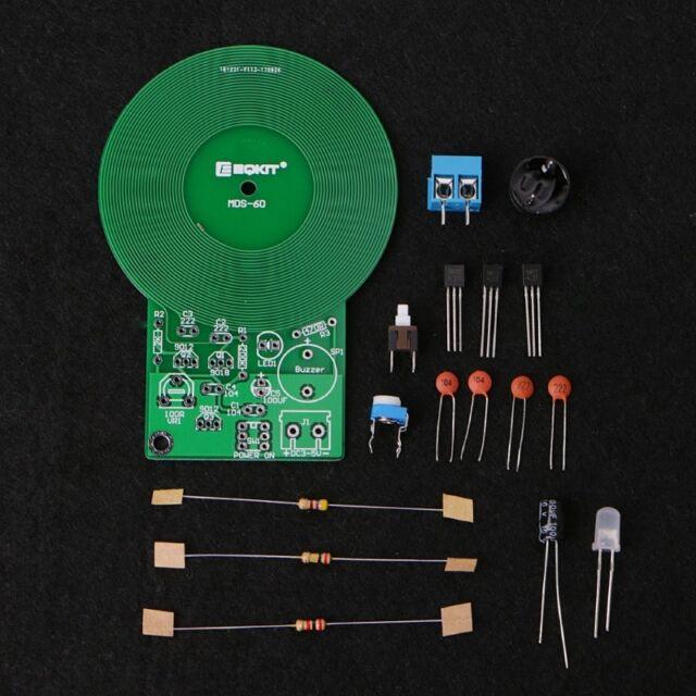 Metal Detector Electronic Diy Kit Dc 3v 5v 60mm Non Contact Sensor