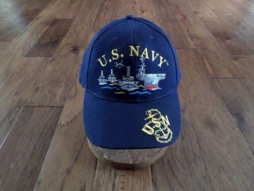 NEW U.S MILITARY NAVY FLEET EMBROIDERED HAT BASEBALL CAP OFFICIAL LICENSED HATS