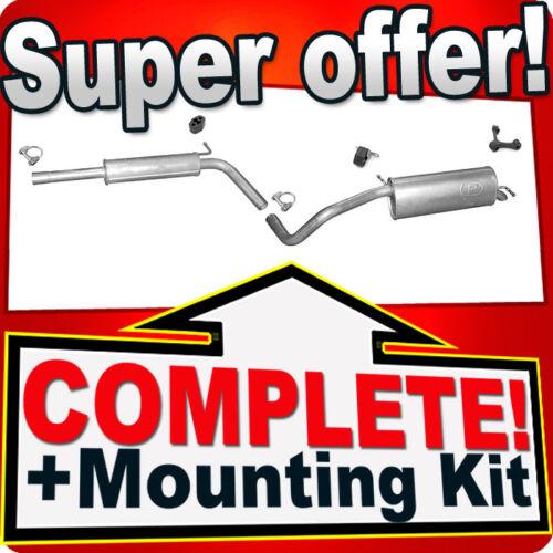 SKODA FABIA 1.6 2007-2010 Silencer Exhaust System R74C