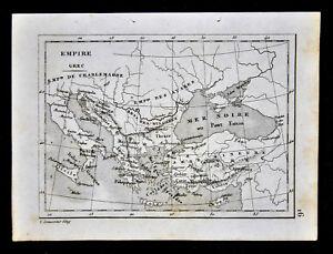 c-1835-Levasseur-Map-Greek-Empire-Holy-Roman-Greece-Turkey-Black-Sea-Italy