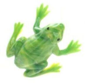 Frogs - Tiny Vintage Minis - German - 6 pcs - IV3-2534
