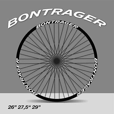 Juego de Adhesivos en Vinilo para Bici Trek BONTRAGER Pegatinas Casco Bici Sticker Decorativo Bicicleta Pegatinas para Bici