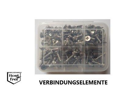 Thermoplaste 25 Stück PT Schrauben für Kunststoffe Senkkopf A2 4,0X16 TORX