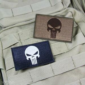 New-Swat-Punisher-Skull-Military-Tactical-Patch-Tape-Army-Style-Badge-Armband