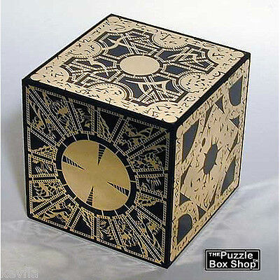 HELLRAISER PUZZLE BOX SOLID WOOD LAMENT CUBE HORROR FREE US PRIORITY SHIPPING