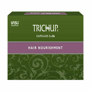 2*Trichup Ayurvedic Hair Nutrition Capsules 60capsules for Hair Growth Hair care