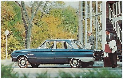 1962 Ford THUNDERBIRD Convertible NOS Dealer Promotional Postcard UNUSED VG+//EX