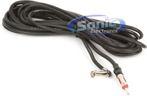Scosche FDA18B 18 ft. Factory Ford to Universal Antenna Adapter Plug Cable