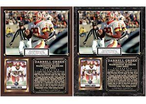 54f8e7df0 Image is loading Darrell-Green-28-Washington-Redskins-Photo-Card-Plaque