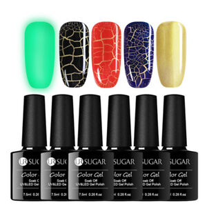 UR-SUGAR-5Pcs-7-5ml-Nagel-Gellack-Risse-Cracked-Nail-Art-Soak-off-UV-Gel-Polish