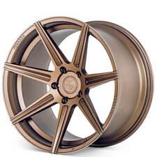 4 20x920x105 Ferrada Wheels F8 Fr7 Matte Bronze Fits Maserati Ghibli B9 Fits 2012 Jeep Grand Cherokee