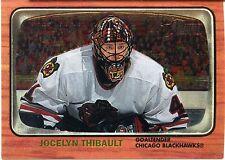 2002-03 Topps Heritage Chrome Jocelyn Thibault Card 543/667 Chicago Blackhawks