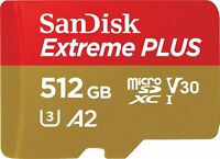 SanDisk Extreme PLUS 512GB microSDXC Card