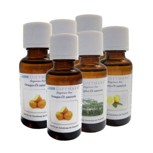 6er Set Natürliche u Ätherische Luftmaxx Wasserstaubsauger Öle Dufte Öl gemischt