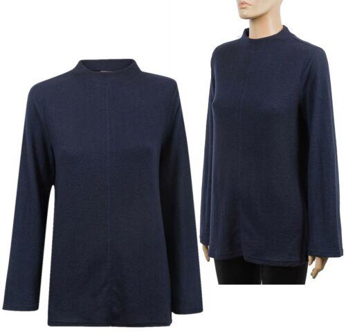 Ladies Soft Warm Fleece Jumper Women/'s Cozy Sweater Pullover Top