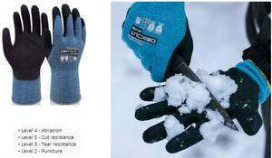 """Cut Resistant Level 5 20°C /"""" Gloves Wonder Grip DexCut /""""Cold Resistant to"""