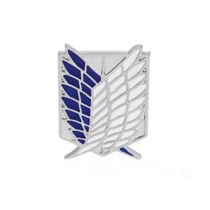 Attack On Titan Broche Pin/'s Pins Badge Logo Scouting Legion Eren Mikasa Armin