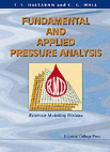 Fundamental and Applied Pressure Analysis, Wall, C. G., Daltaban, T. S., Very Go