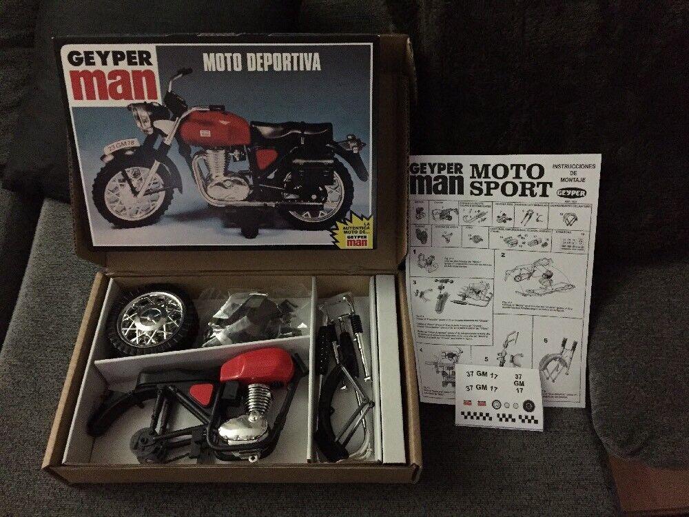 Geyperman Moto Deportiva Reedición caja Sin Abrir Nuevo