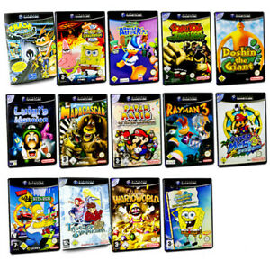 Gamecube Spiel Crash Bandicoot Luigi Rayman 3 Super Mario Sunshine