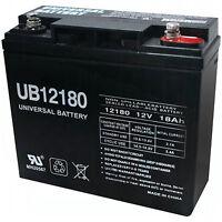 Upg Ub12180 12v 18ah Sla Internal Thread Replacement Battery For Csb Gp12250 on Sale