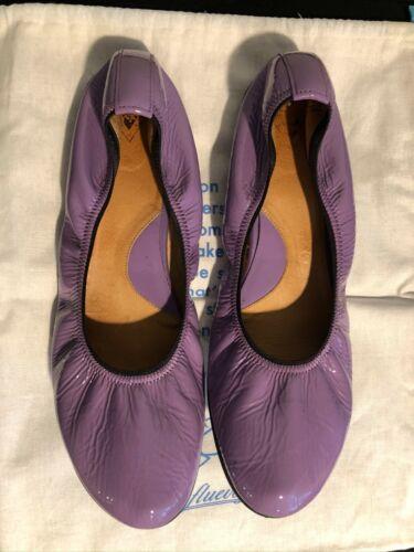 John Fluevog lilac ballett flat