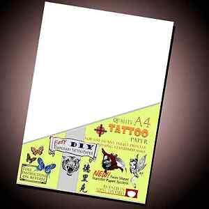 Details About Temporary Tattoo Transfer Paper Ebay Best Seller Inkjet Waterproof Tattoos