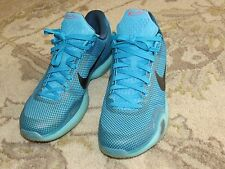 Men's Nike Kobe X size 12 shoes - GREAT CONDITION. Color is Blue Lagoon