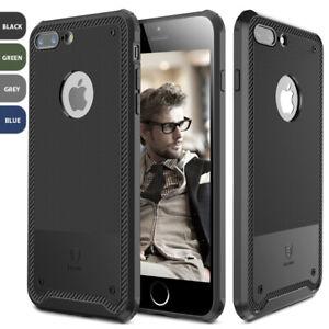 For-Apple-iPhone-8-7-Plus-Slim-Carbon-Fiber-Texture-Soft-TPU-Rubber-Case-Cover