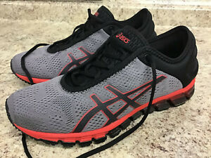 Details about Asics GEL Quantum 180 3 Carbon Men's Running Shoes Size 8.5 ~ 1021A119 Grey Red