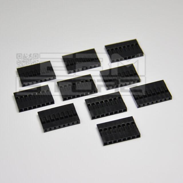 10 pz Connettore DUPONT 8 poli - ART. AX09