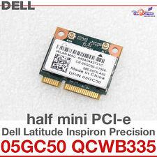 Wi-Fi WLAN WIRELESS CARD NETZWERKKARTE DELL MINI PCI-E 05GC50 QCWB335 NEW D36