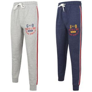 4ac60d423 Tokyo Laundry Huntington Men s Joggers Sweatpants Jogging Tracksuit ...