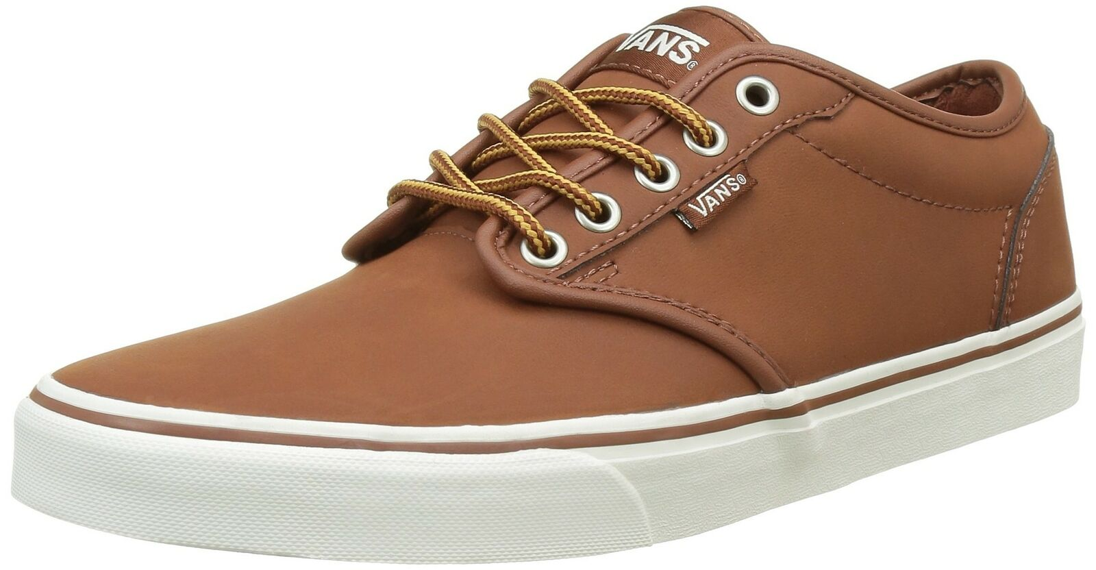 Vans Atwood shoes US 9.5 Leather Brown